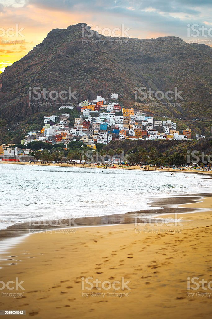 Teresitas Beach stock photo