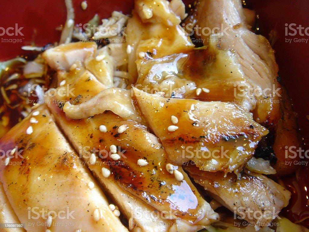 Teriyaki Chicken royalty-free stock photo