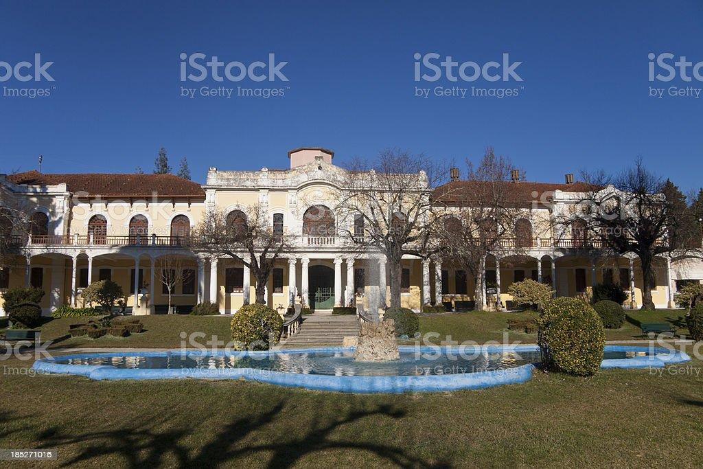 Termas da Curia royalty-free stock photo