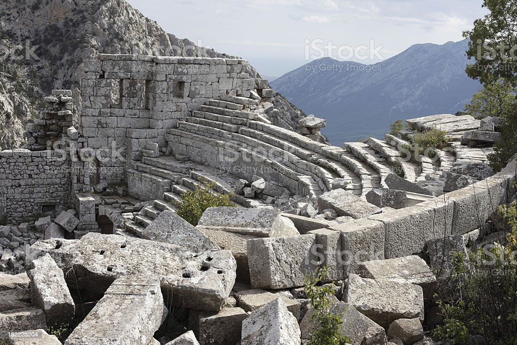 Termessos, Antalya, Turkey stock photo