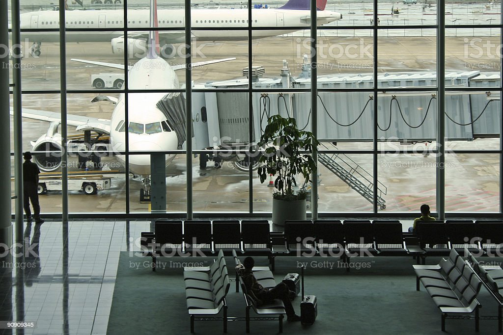 terminal anxiety macao airport royalty-free stock photo