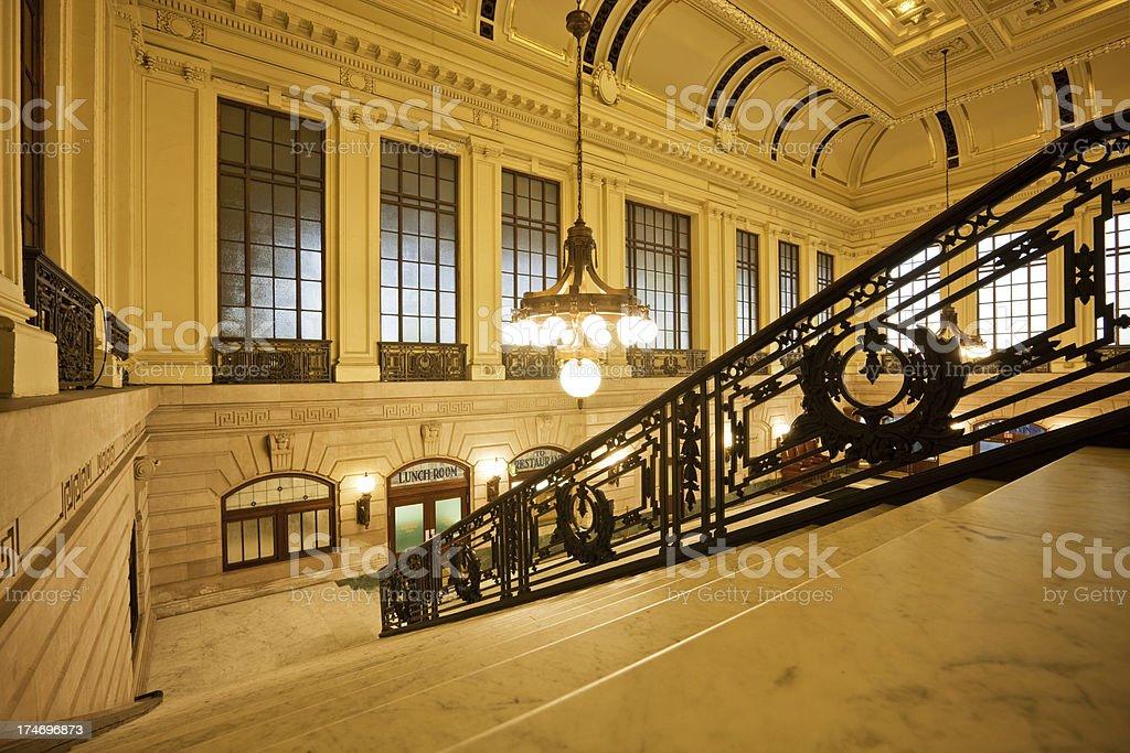 Terminal Hall royalty-free stock photo