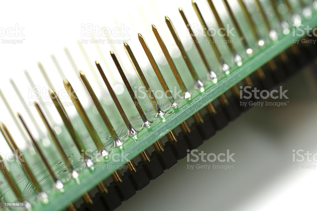 terminal pin royalty-free stock photo