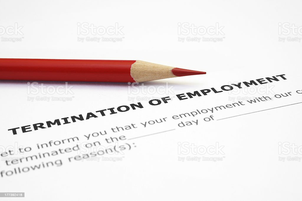 Termination Of Employment Pictures, Images And Stock Photos - Istock