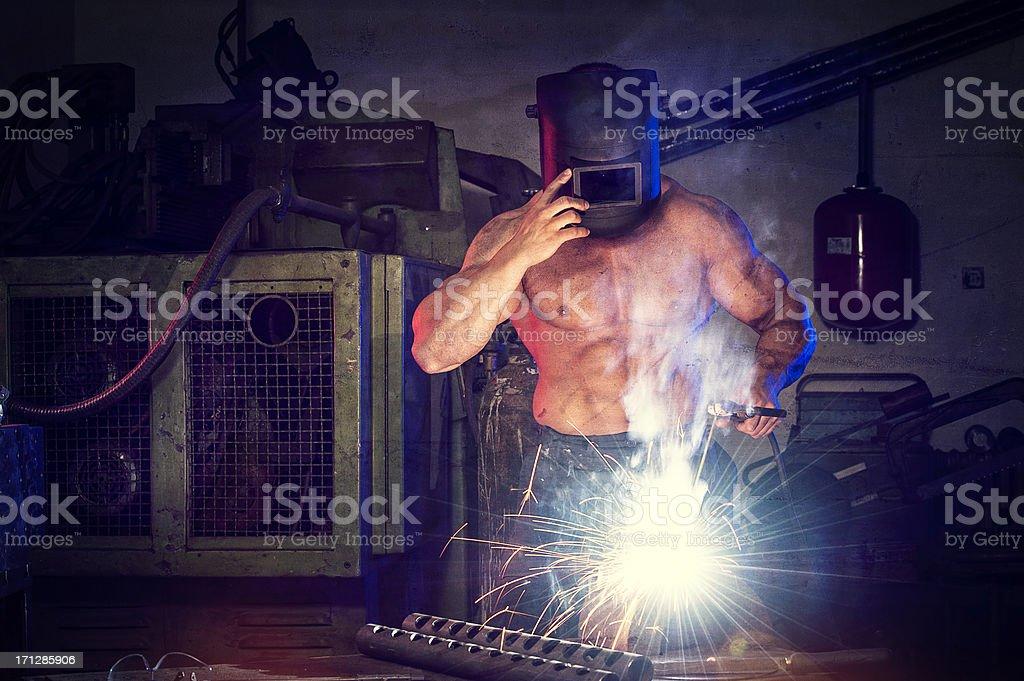 Terminator rebuilding stock photo
