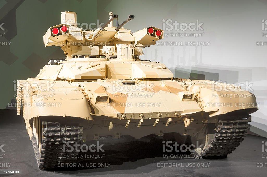 Terminator-2 Tank Support Fighting Vehicle stock photo
