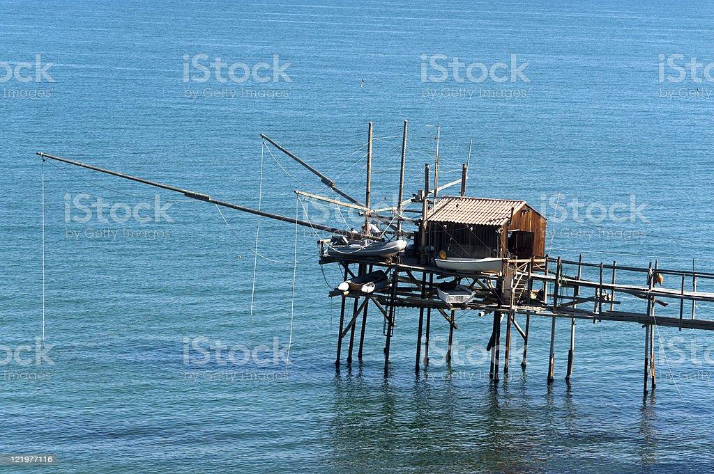 Termoli (Campobasso, Molise, Italy) - Fishing royalty-free stock photo