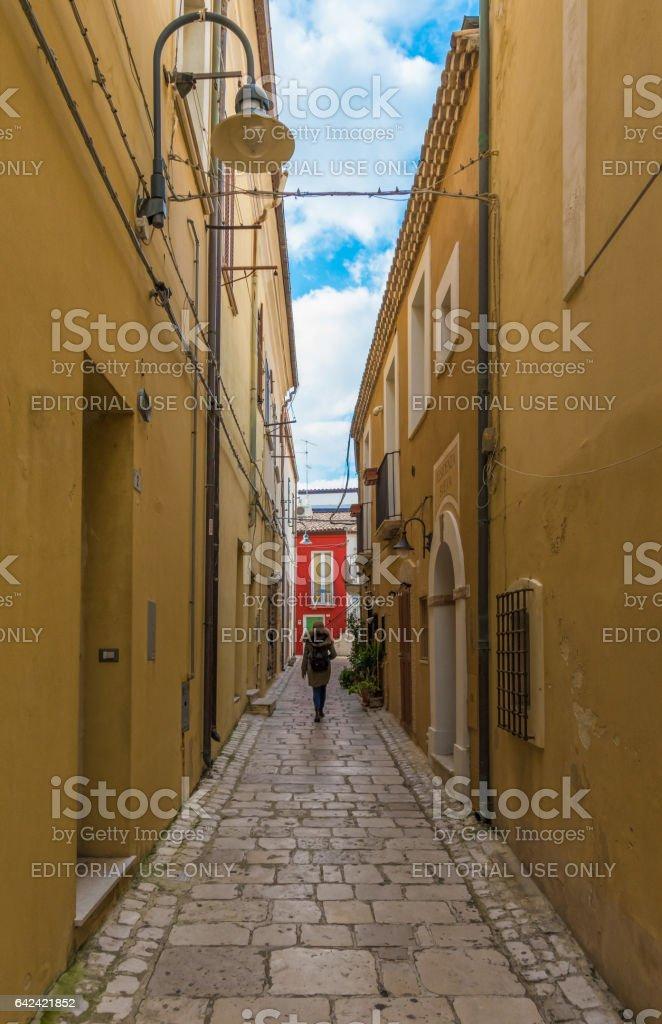 Termoli (Molise, Italy) stock photo