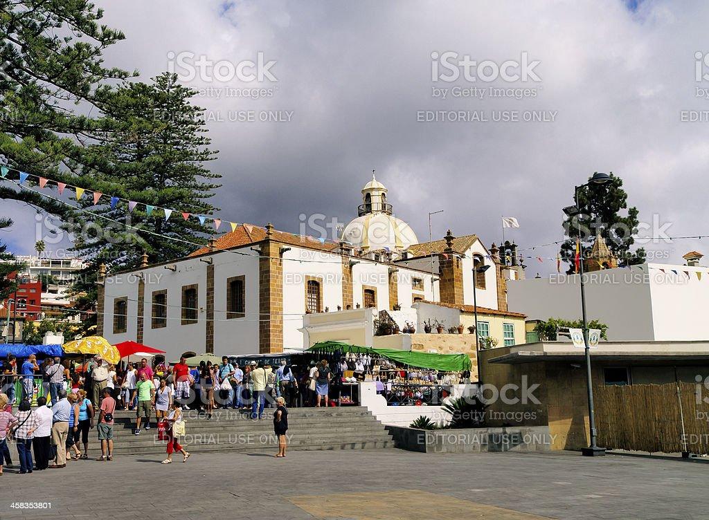 Teror, Gran Canaria royalty-free stock photo