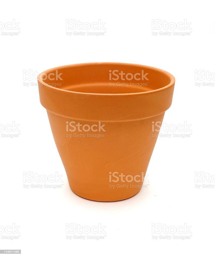 Terra Cotta Pot stock photo