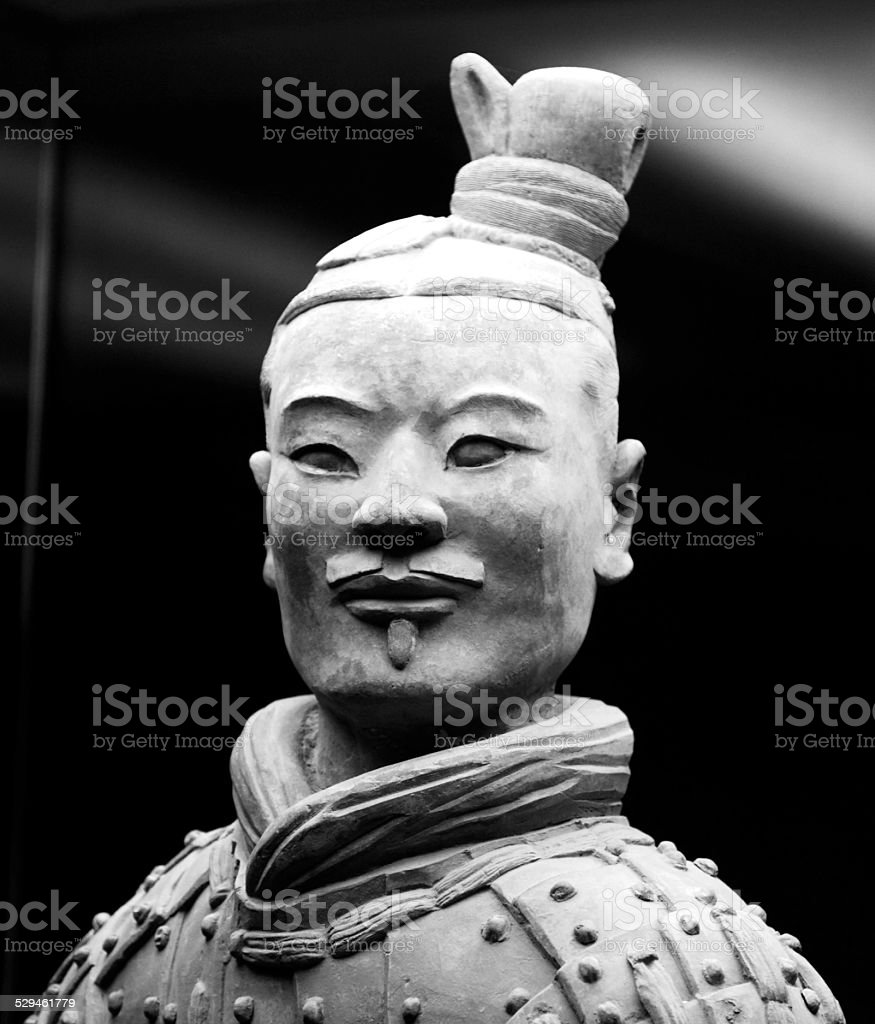Terra Cotta Warrior stock photo