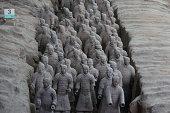 Terra Cotta Warriors in Xian China