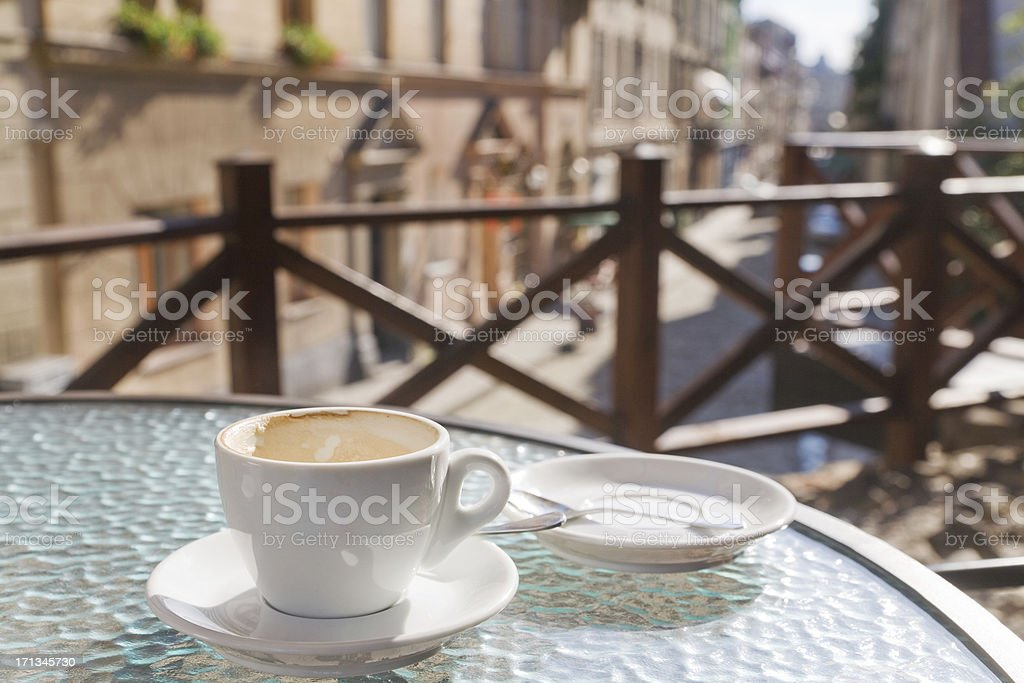 Terrace Cafe royalty-free stock photo