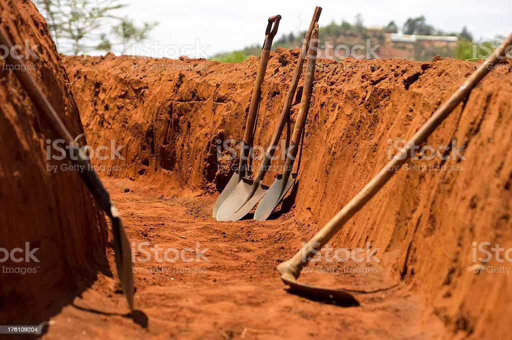 Terrace Construction royalty-free stock photo