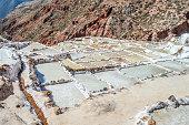 Terraced salt mines of Salinas de Maras - Peru