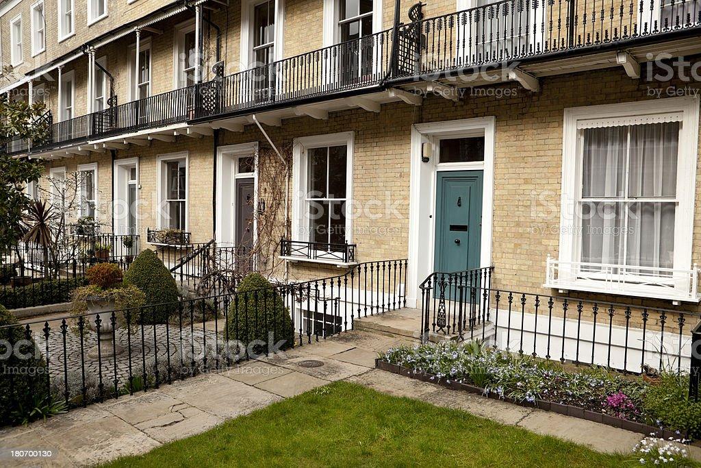 Terraced townhouses, London (XXXL) royalty-free stock photo
