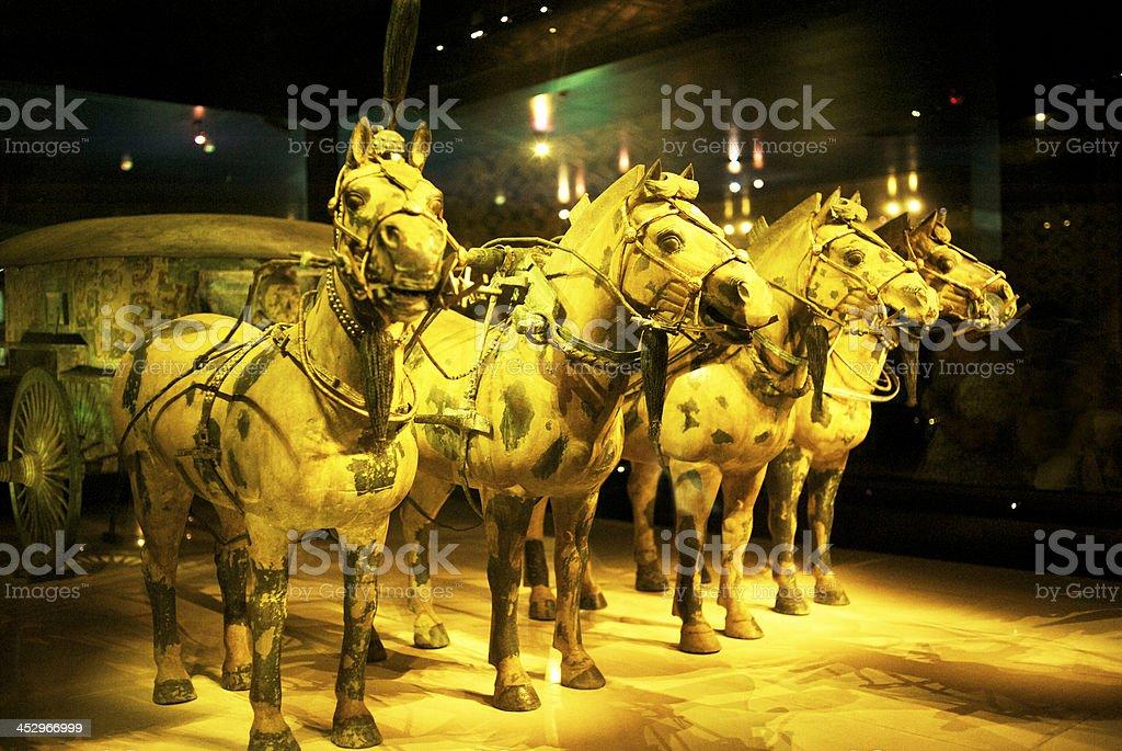 Terracotta Army royalty-free stock photo