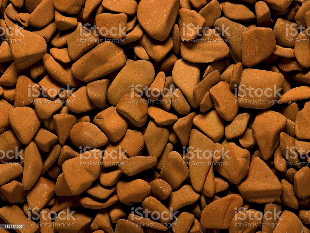 Terracotta background. stock photo