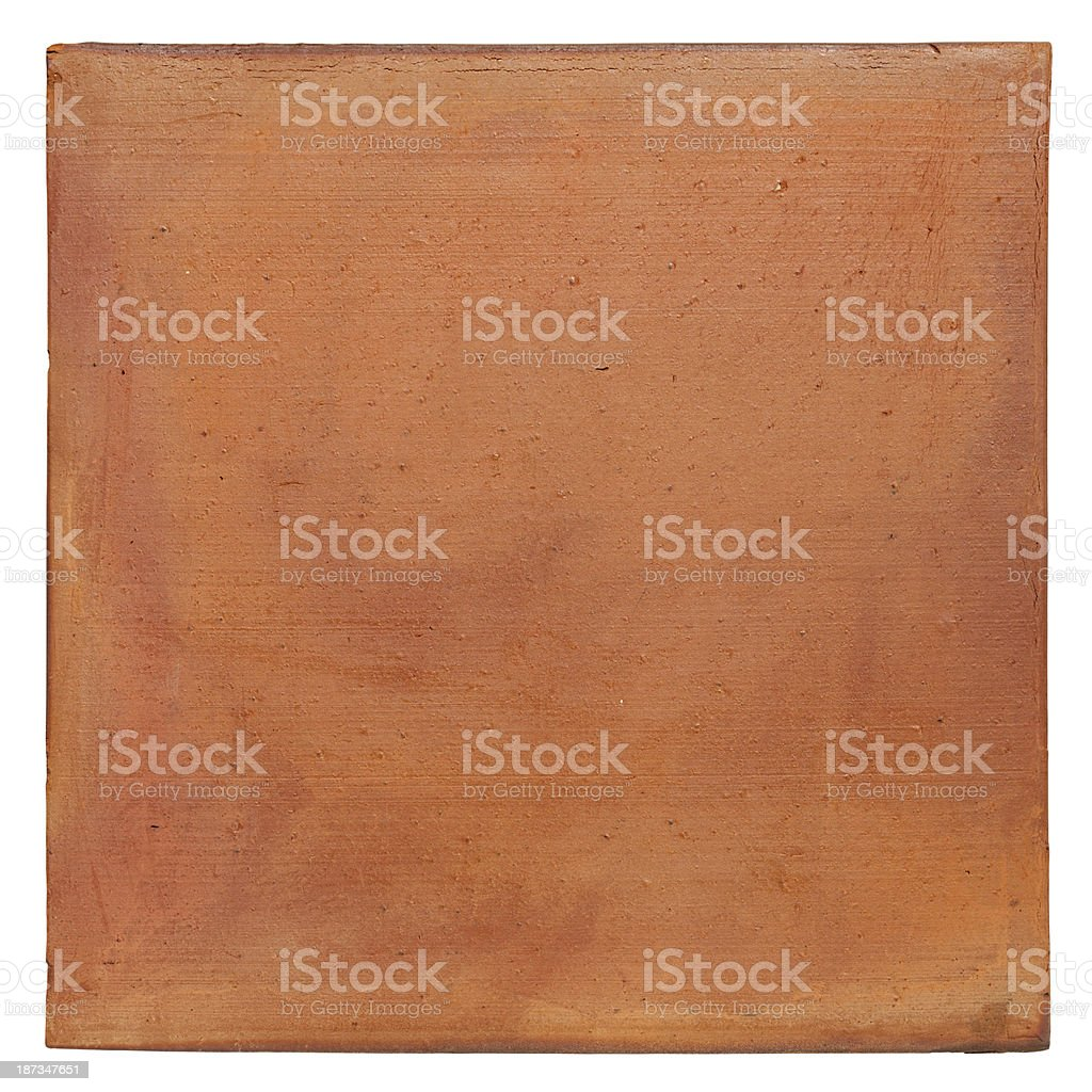 Terracotta background. stock photo