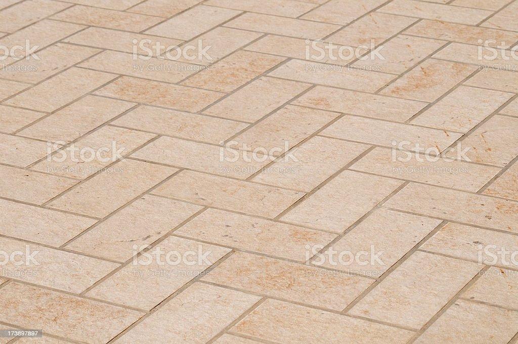 Terracotta floor royalty-free stock photo