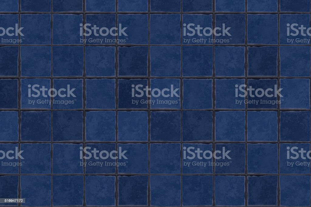 Terracotta floor tiles stock photo
