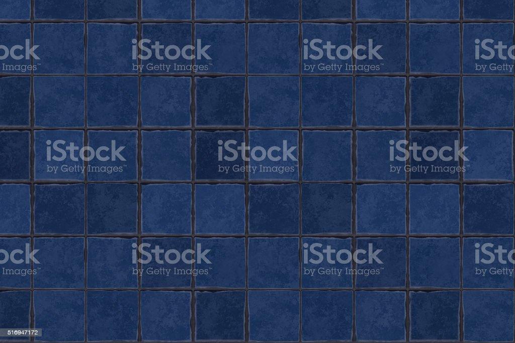 Terracotta floor tiles stock photo