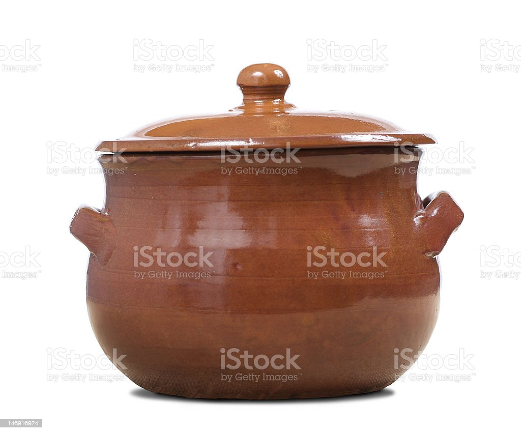 terracotta pot royalty-free stock photo