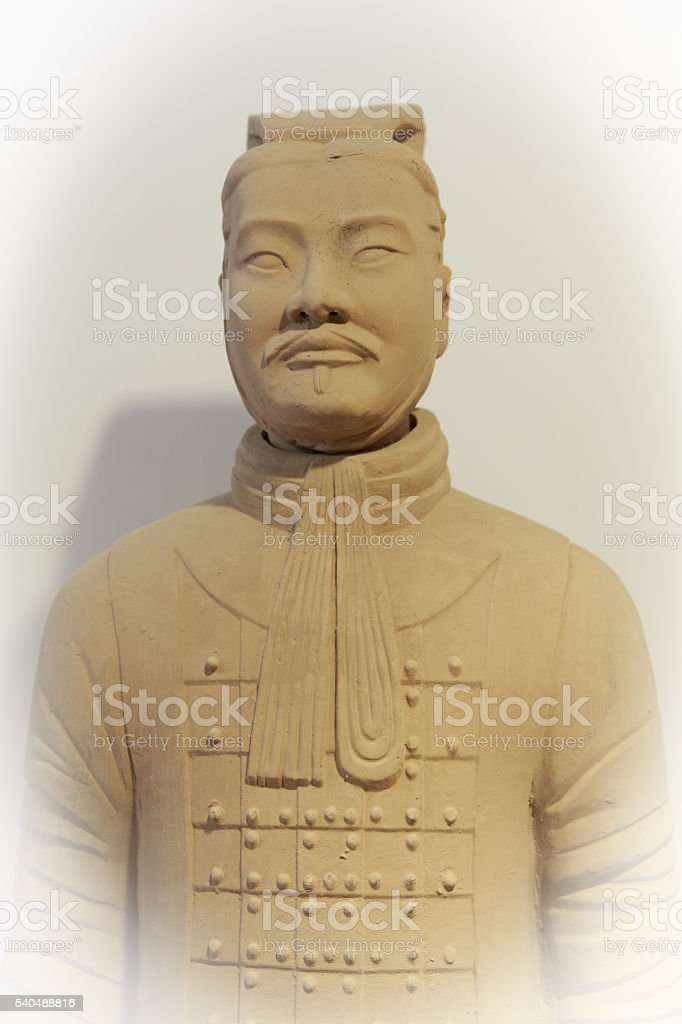 Terracotta Soldier stock photo