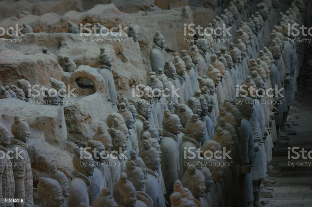 Terracotta Soldiers 7 stock photo