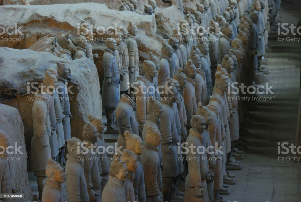 Terracotta Soldiers 9 stock photo