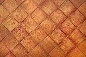 Terracotta tiles background