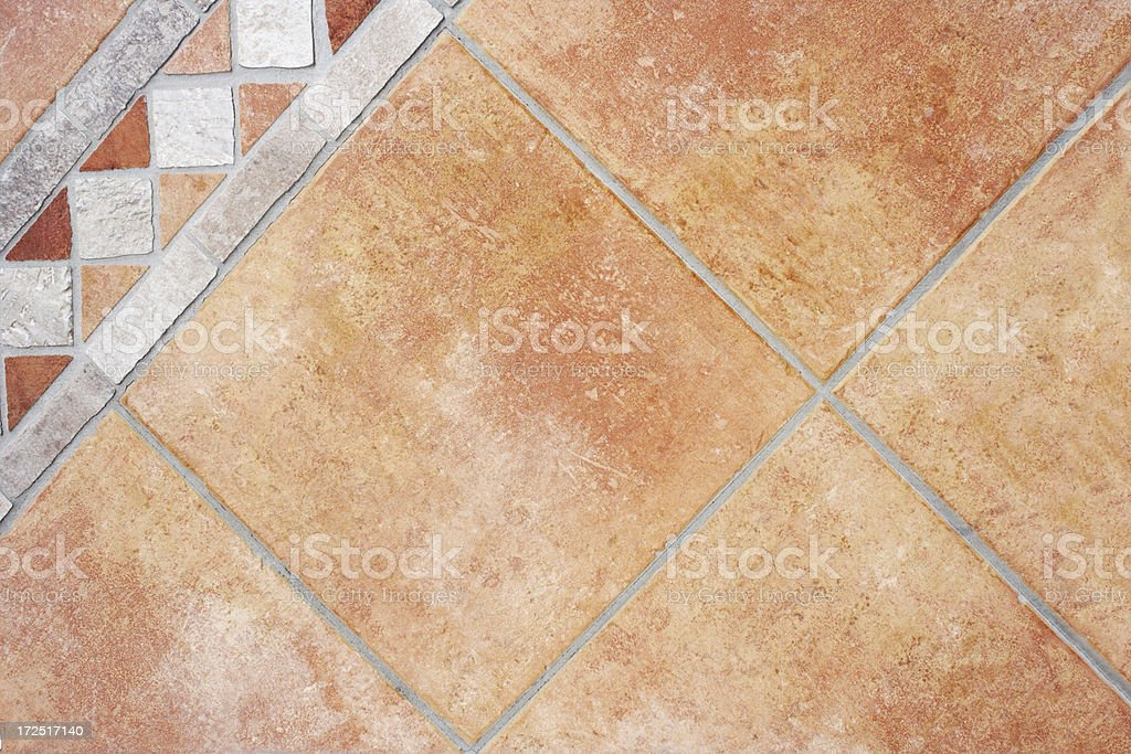 Terracotta tiles royalty-free stock photo