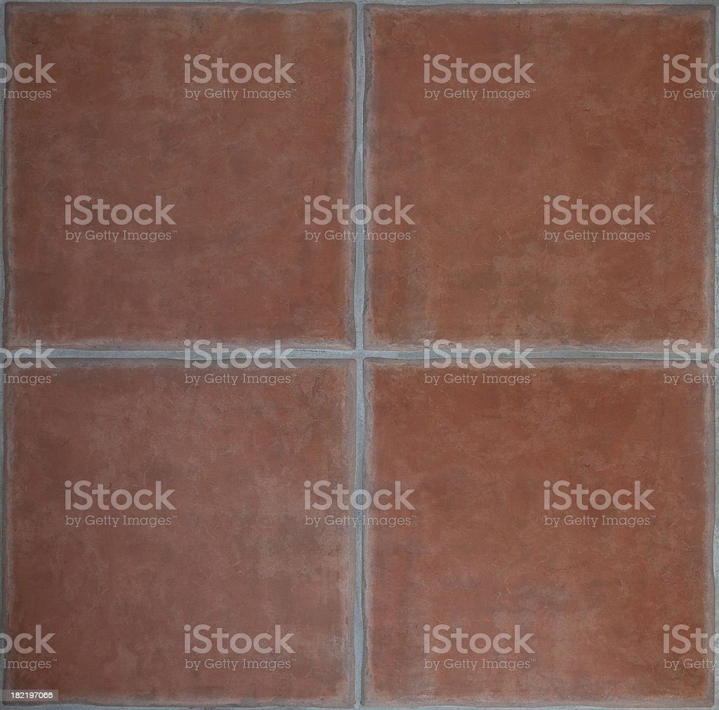 Terracotta Tiles stock photo