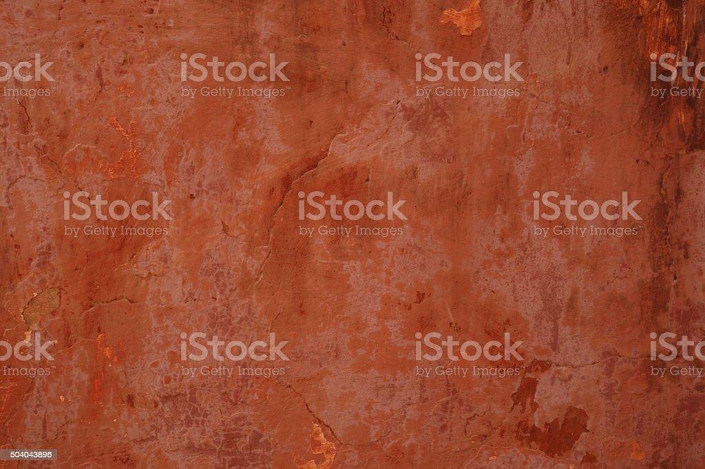 Terracotta wall background stock photo