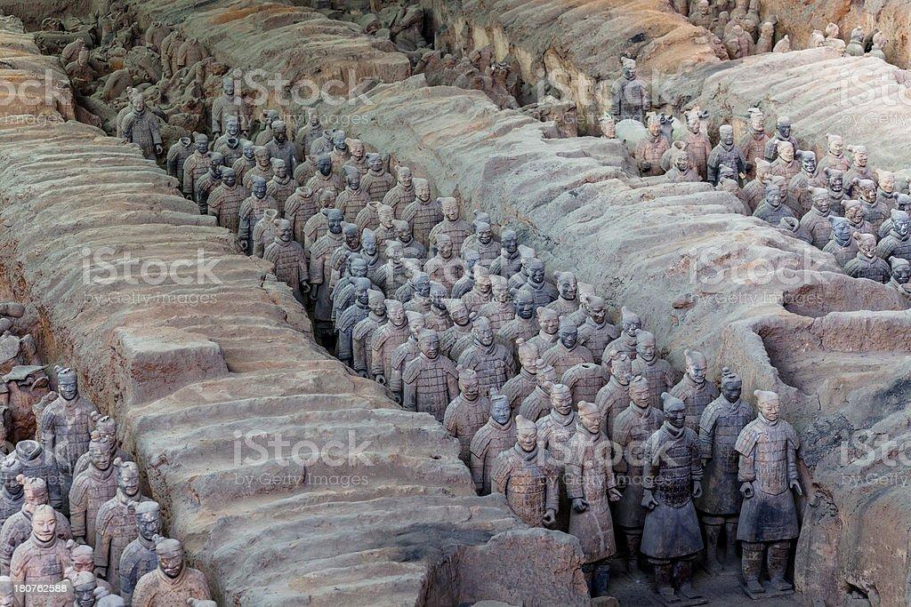Terracotta Warrior royalty-free stock photo