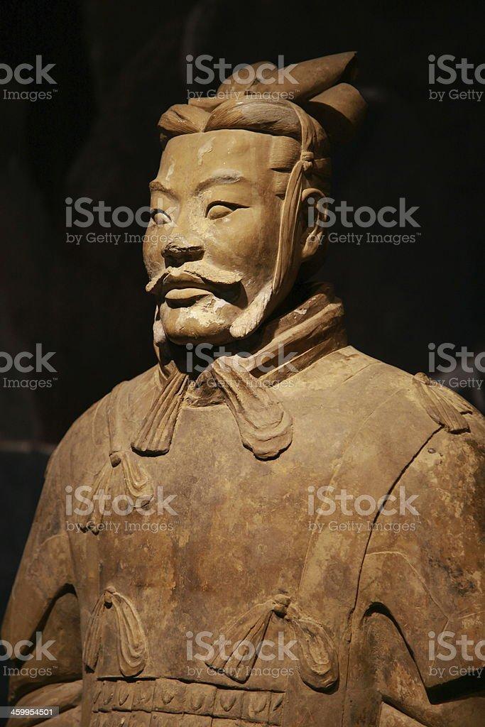 Terracotta Warrior, Xian stock photo