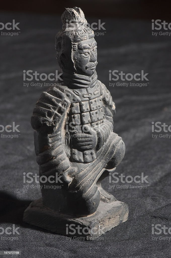 Terracotta Warriors. royalty-free stock photo