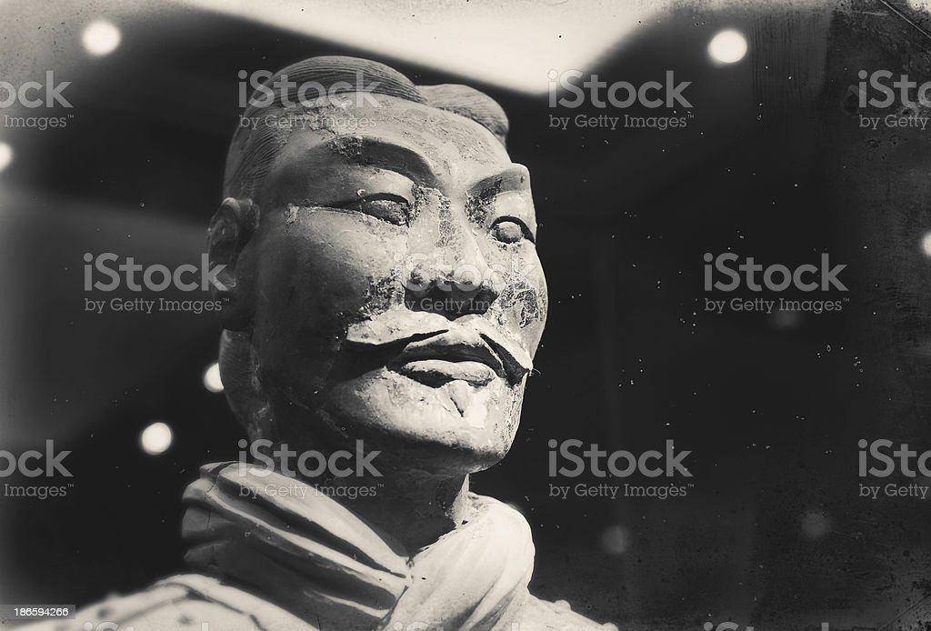 Terracotta Warriors royalty-free stock photo