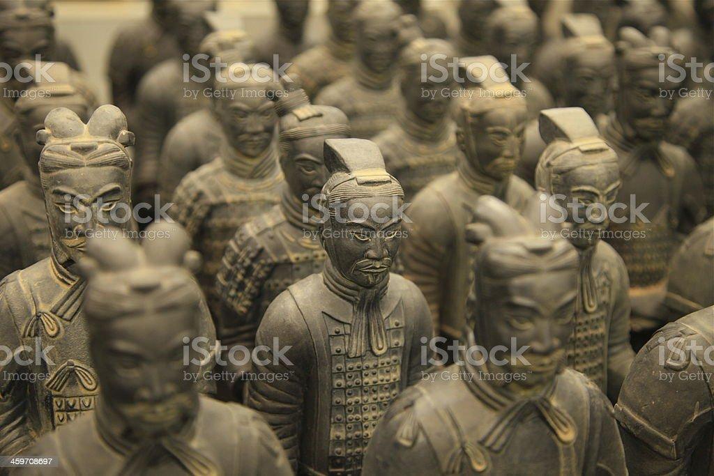 Terracotta Warriors, Xian stock photo