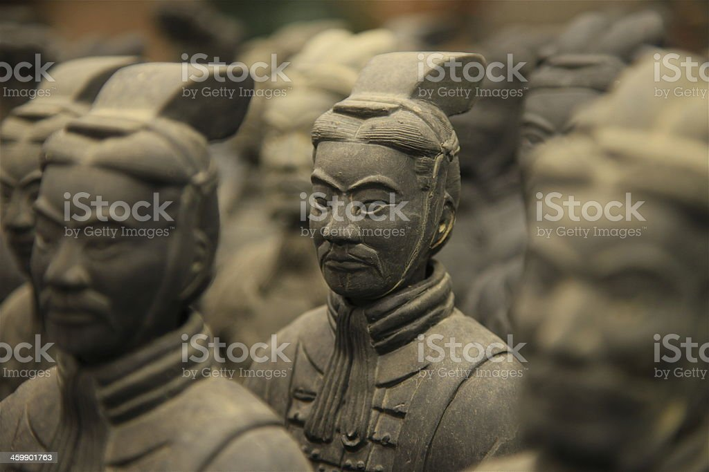 Terracotta Warriors, Xian stock photo