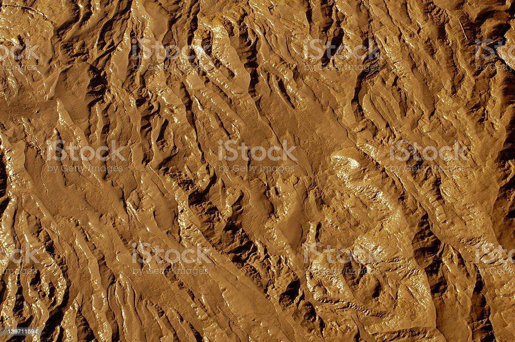 Terrain texture background stock photo