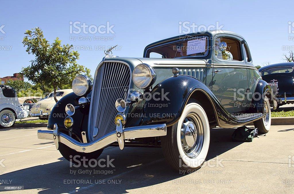 Terraplane 1934 Coupe stock photo