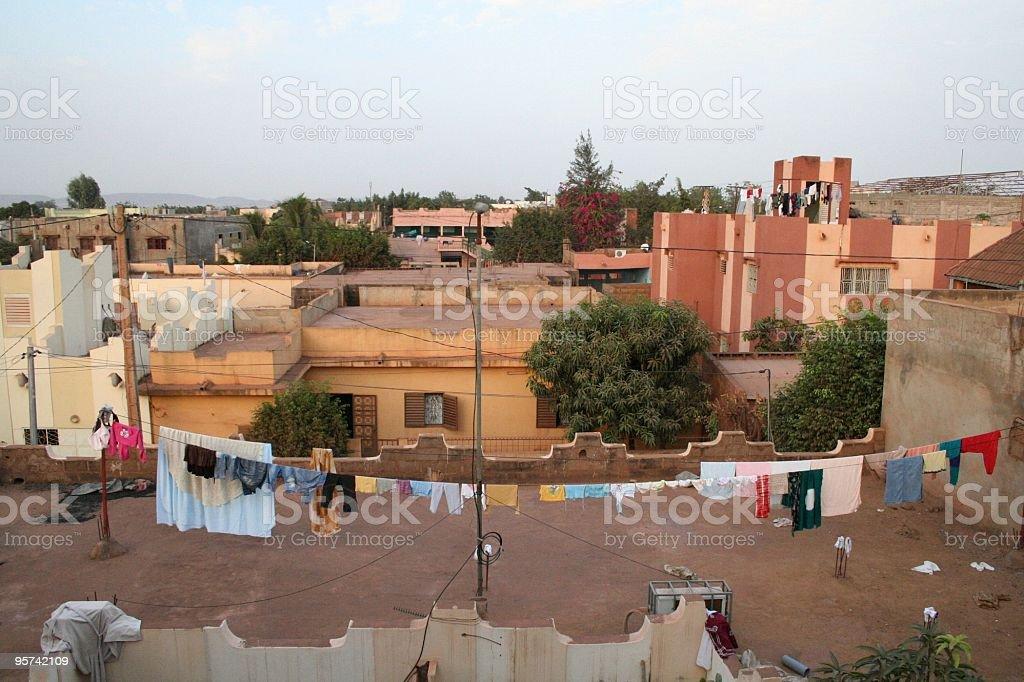 Terrasse stock photo