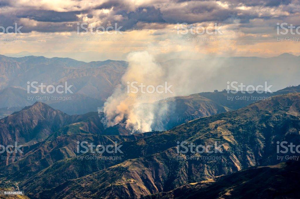 Terre brulée stock photo