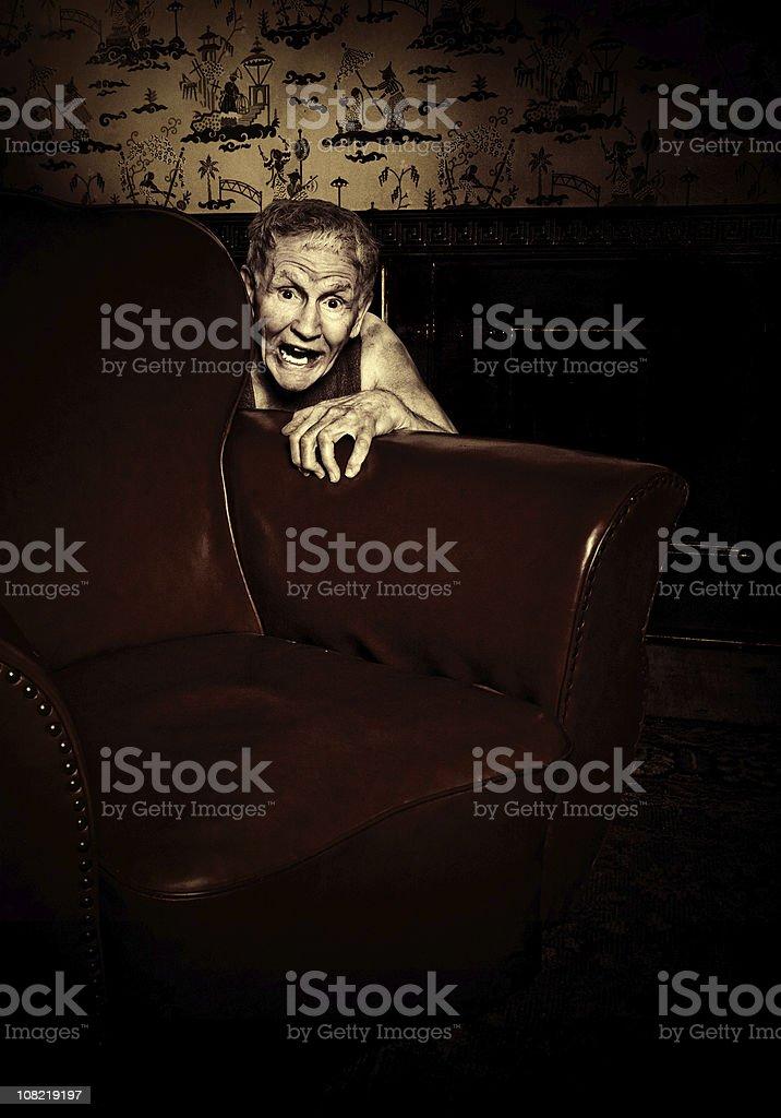 terrified stock photo