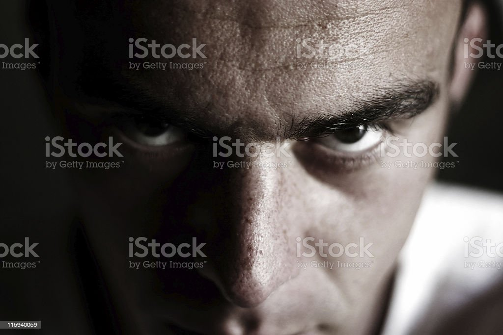Terrify royalty-free stock photo