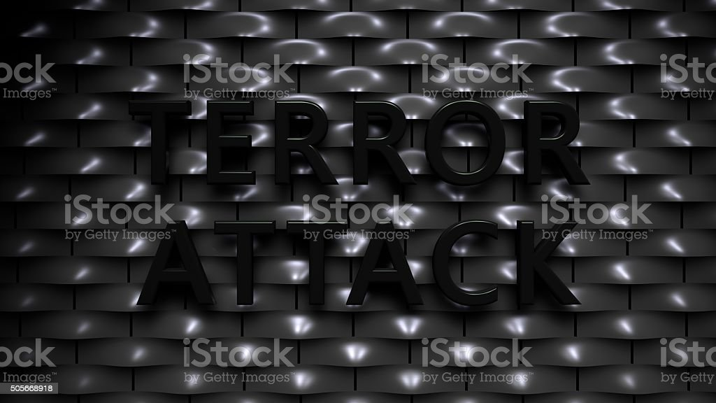 Terror Attack stock photo