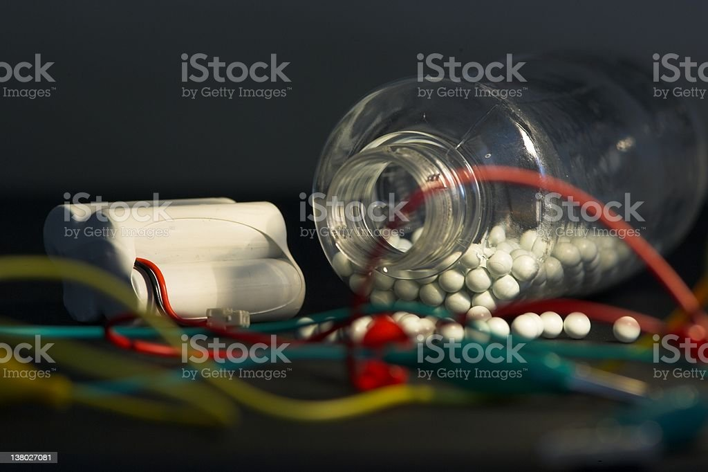 Terror in the making... royalty-free stock photo