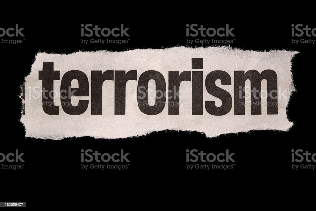 terrorism royalty-free stock photo