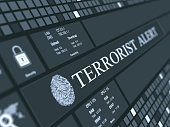 Terrorist alert concept